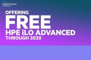 HPE iLO Advanced đang MIỄN PHÍ đến hết năm 2020